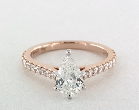 rose unique design shaped products gold diamond ken pear aurora dana engagement wedding shape inspired ring grande rings nature sculptural