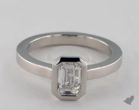 Platinum  Tension Engagement Ring