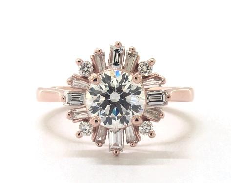 Ballerina Diamond Rings