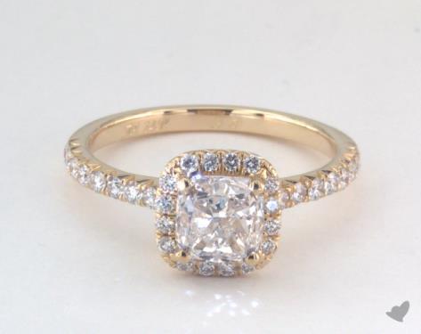 Cushion Cut Engagement Rings Jamesallen Com