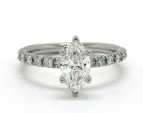 8b35318a7f Marquise Cut Engagement Rings - All Viewable In 360° HD