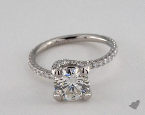 Platinum  Danhov Engagement Ring