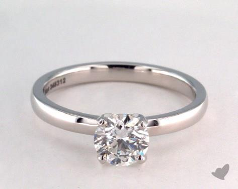 Platinum Solitaire Setting