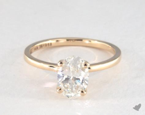 ballad brilliant rings jewellery diamond luxe gold earth white ring oval engagement