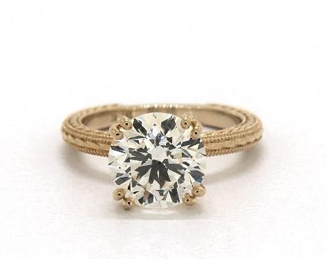 A 3 Carat Diamond Ring