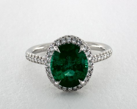 Emerald Engagement Rings