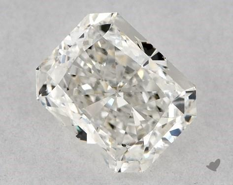 0.70 Carat H-VS2 Radiant Cut Diamond