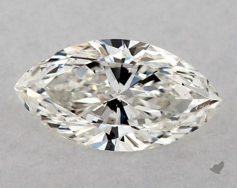 0.70 Carat I-SI1 Marquise Cut Diamond