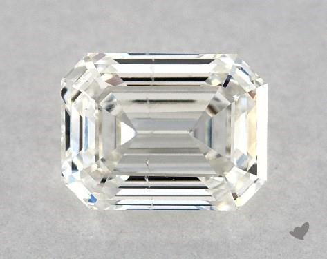 0.90 Carat I-SI1 Emerald Cut Diamond