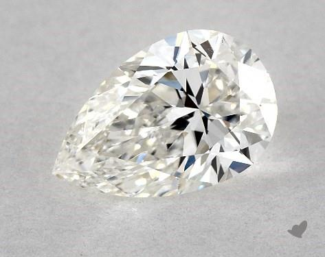 0.70 Carat H-VS1 Pear Shape Diamond