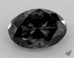 oval4.96 Carat Black