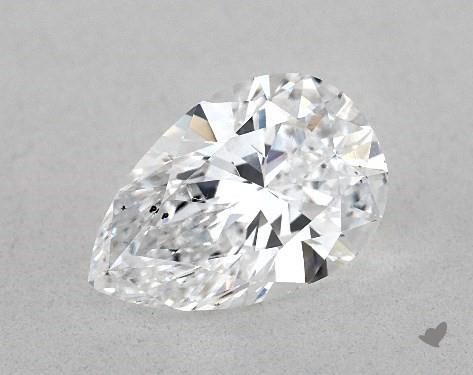1.06 Carat D-SI1 Pear Shape Diamond
