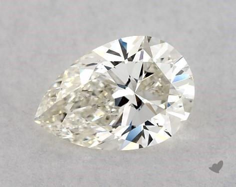 0.72 Carat J-VS1 Pear Shape Diamond