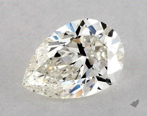 1.05 Carat H-SI1 Pear Shape Diamond