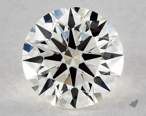 1.06 Carat J-VS1 True Hearts<sup>TM</sup> Ideal Diamond