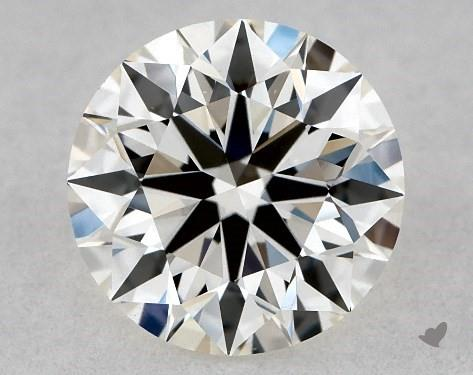 0.79 Carat H-VS2 True Hearts<sup>TM</sup> Ideal Diamond