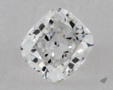 <b>0.60</b> Carat F-SI1 Cushion Cut Diamond
