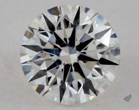 1.41 Carat H-SI1 Excellent Cut Round Diamond