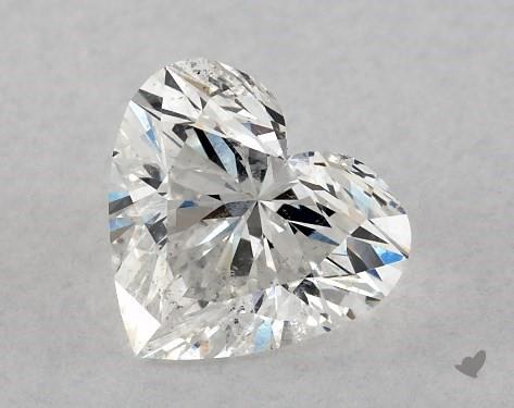 0.72 Carat F-SI2 Heart Shape Diamond