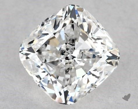 0.70 Carat E-SI2 Cushion Modified Cut Diamond