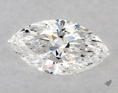 0.70 Carat E-SI2 Marquise Cut Diamond