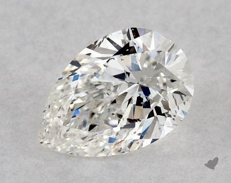 0.70 Carat G-SI2 Pear Shape Diamond