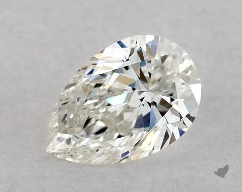 0.70 Carat I-SI1 Pear Shape Diamond