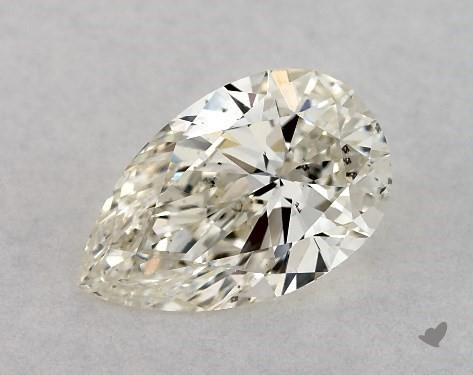 0.72 Carat K-VS2 Pear Shape Diamond