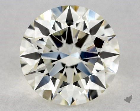 1.71 Carat J-VS2 Excellent Cut Round Diamond
