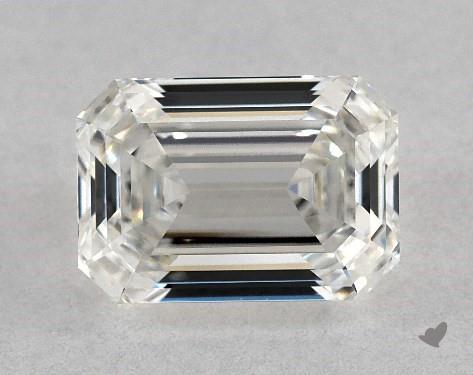 0.94 Carat H-VVS1 Emerald Cut Diamond