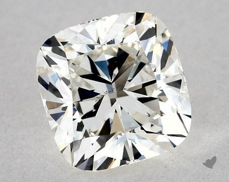 1.01 Carat H-SI1 Cushion Cut Diamond