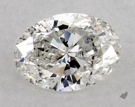 0.70 Carat G-SI2 Oval Cut Diamond