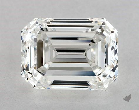 1.90 Carat G-VVS1 Emerald Cut Diamond