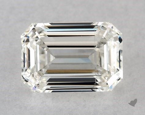 0.73 Carat I-SI1 Emerald Cut Diamond
