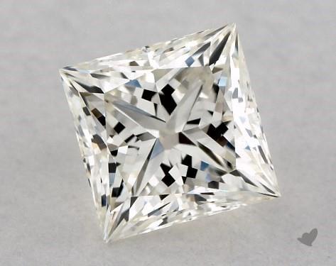 0.70 Carat J-VVS1 Ideal Cut Princess Diamond