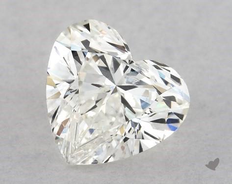 0.71 Carat I-I1 Heart Shape Diamond