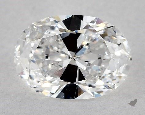 1.01 Carat D-VS1 Oval Cut Diamond
