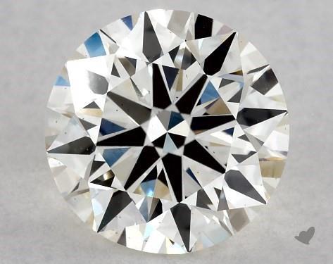 1.30 Carat J-VS2 Excellent Cut Round Diamond