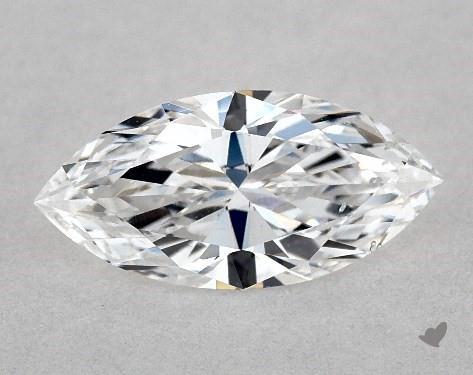 0.70 Carat D-SI2 Marquise Cut Diamond