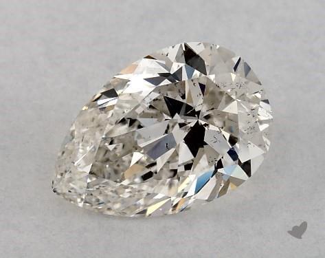 0.71 Carat J-SI2 Pear Shape Diamond
