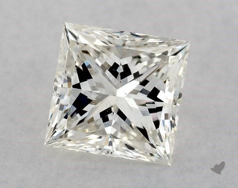 0.70 Carat J-SI2 Ideal Cut Princess Diamond