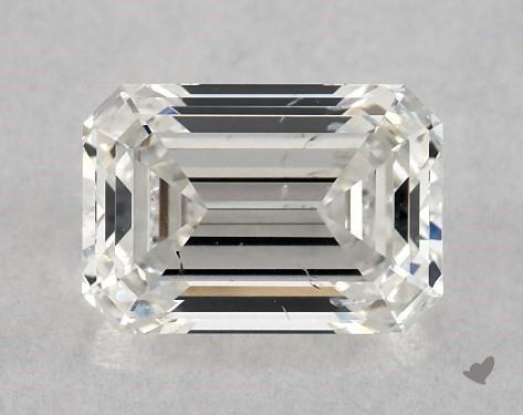 1.09 Carat H-SI1 Emerald Cut Diamond
