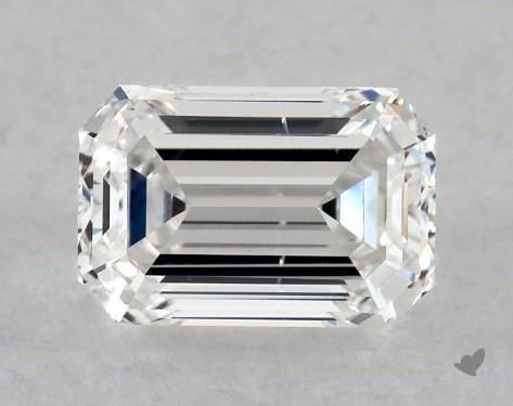0.70 Carat F-SI1 Emerald Cut Diamond