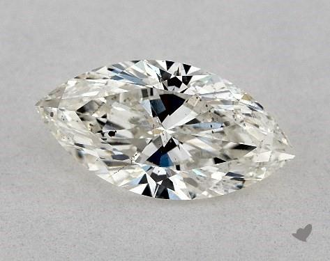 0.90 Carat H-SI1 Marquise Cut Diamond