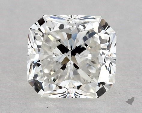 0.67 Carat H-SI1 Radiant Cut Diamond