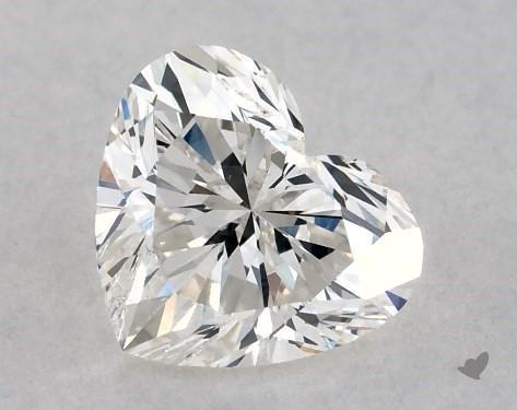 0.70 Carat G-SI2 Heart Shape Diamond