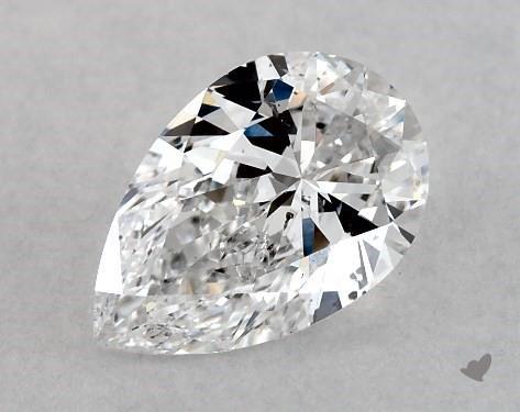 0.70 Carat D-SI2 Pear Shape Diamond