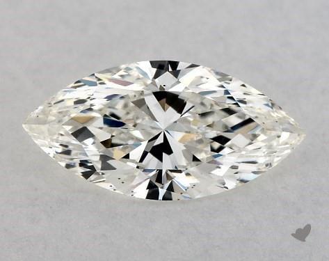 0.73 Carat H-VS2 Marquise Cut Diamond