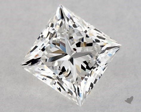 0.70 Carat F-SI2 Ideal Cut Princess Diamond