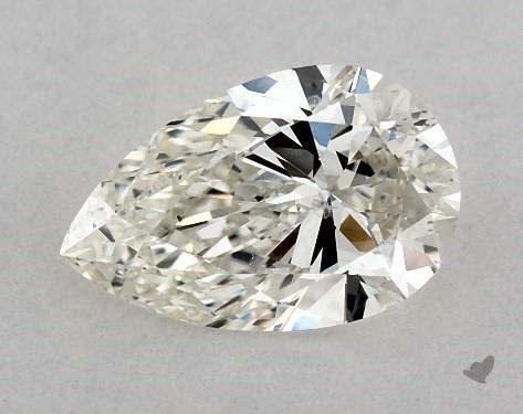 0.70 Carat J-SI1 Pear Shape Diamond